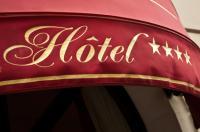Enseigne hôtel sur toile